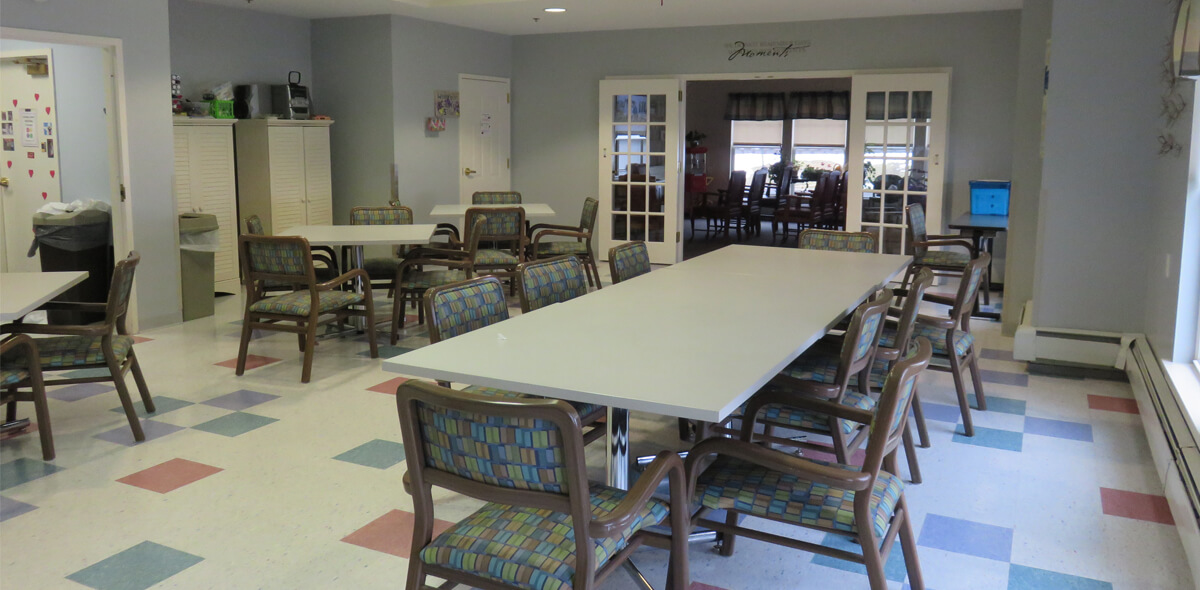 Woodcrest Commons DePaul Senior Living Activity Room