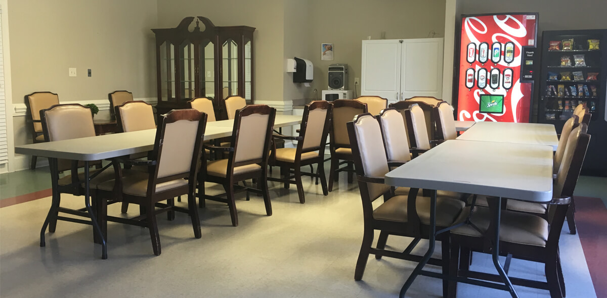 Woodridge DePaul Senior Living Activity Room