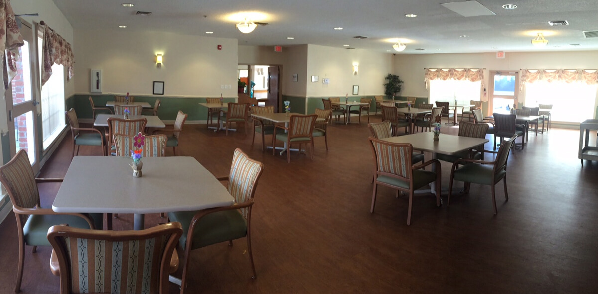 Dayspring Of Wallace DePaul Senior Living Dining Room