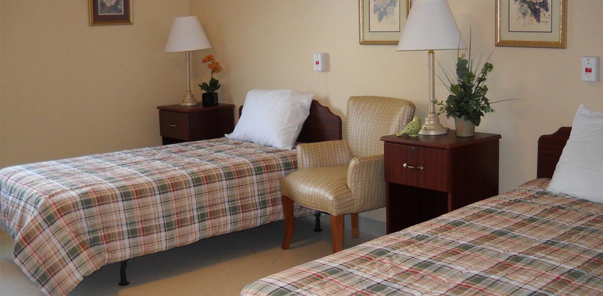 Dayspring Of Wallace DePaul Senior Living Bedroom