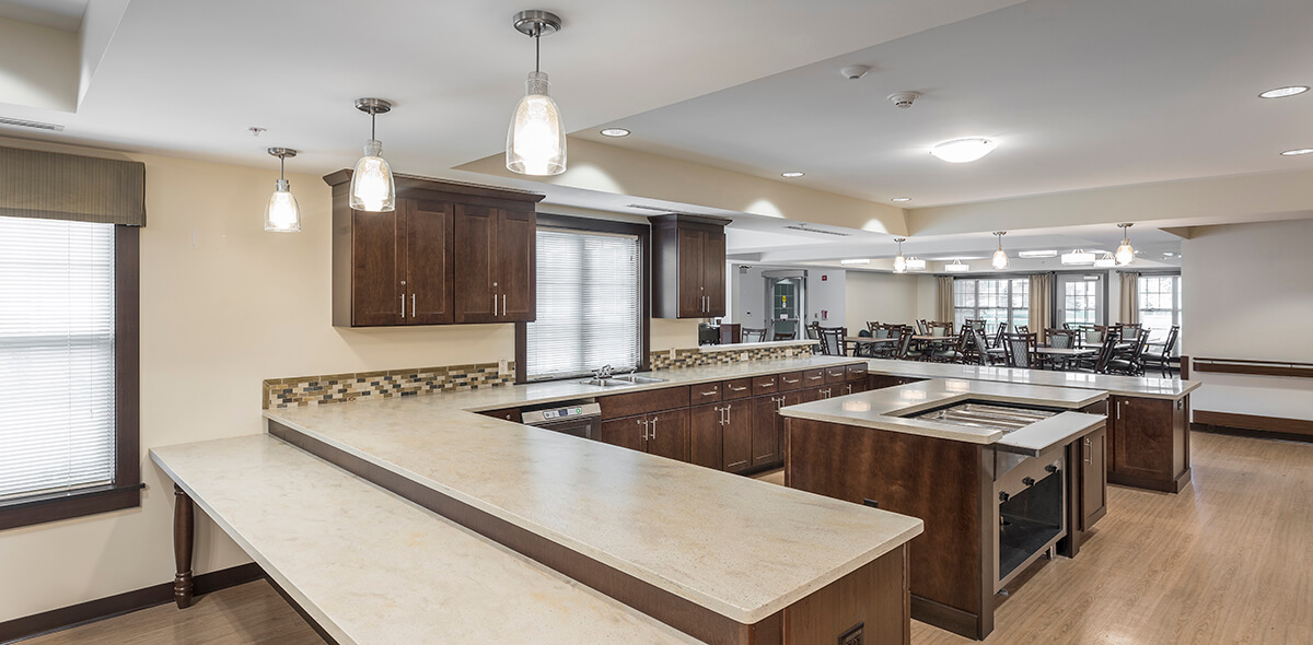 Wheatfield Commons DePaul Senior Living Kitchen