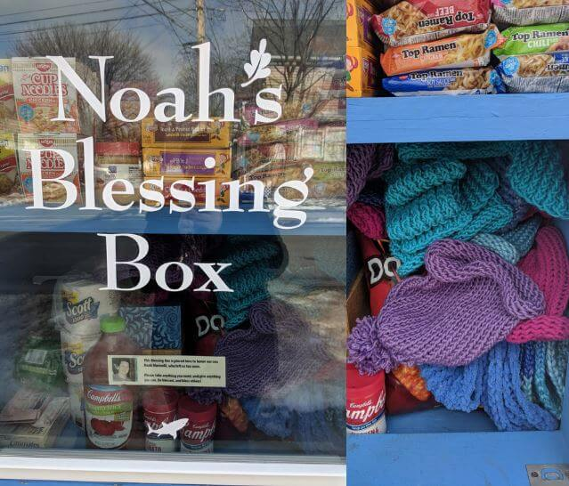 Photo of Noah's blessing box