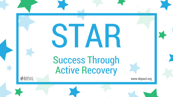 Success Through Active Recovery (STAR) graphic