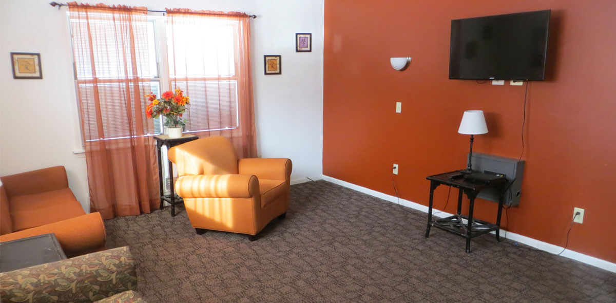DePaul Elmgrove Licensed Congregate Treatment Site Living Room
