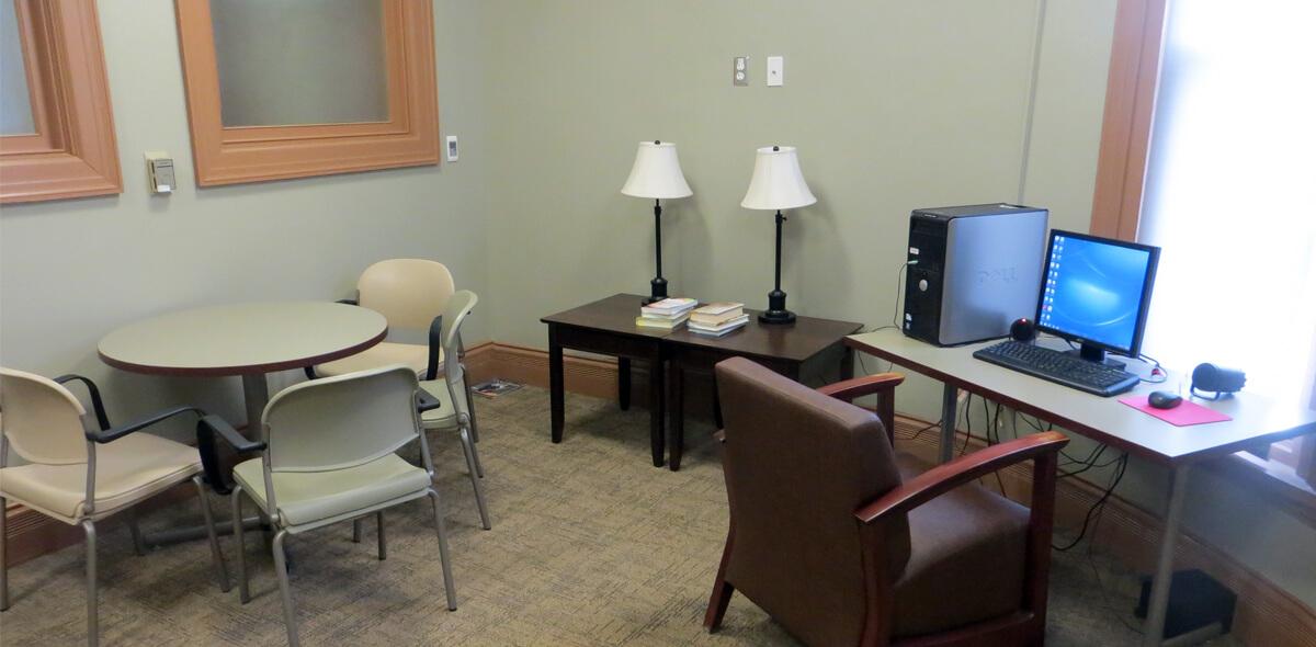 DePaul West Main Apartment Treatment Program Computer Room