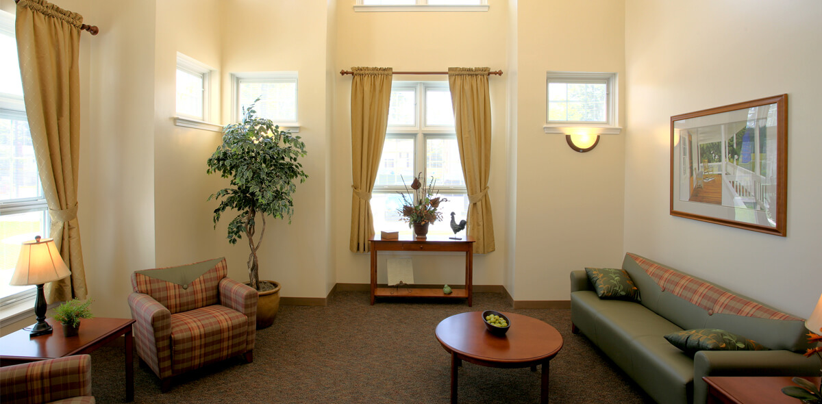 DePaul Batavia Apartment Treatment Program Front Room