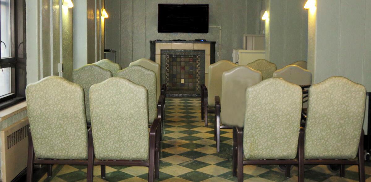 DePaul Cornerstone Community Residence Single Room Occupancy Program Media Room