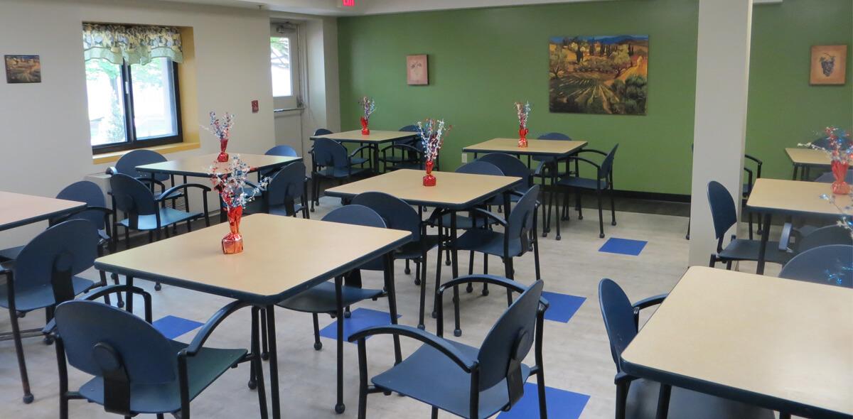 DePaul McKinley Square Community Residence Single Room Occupancy Program Dining Room