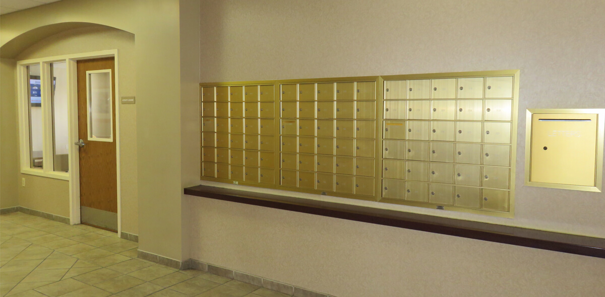 DePaul Parkside Community Residence Single Room Occupancy Program Mailboxes
