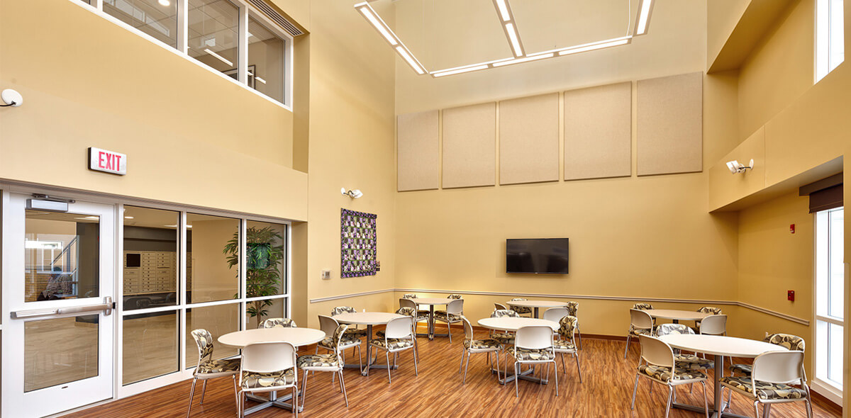 DePaul Rochester View Apartment Treatment Program Community Room