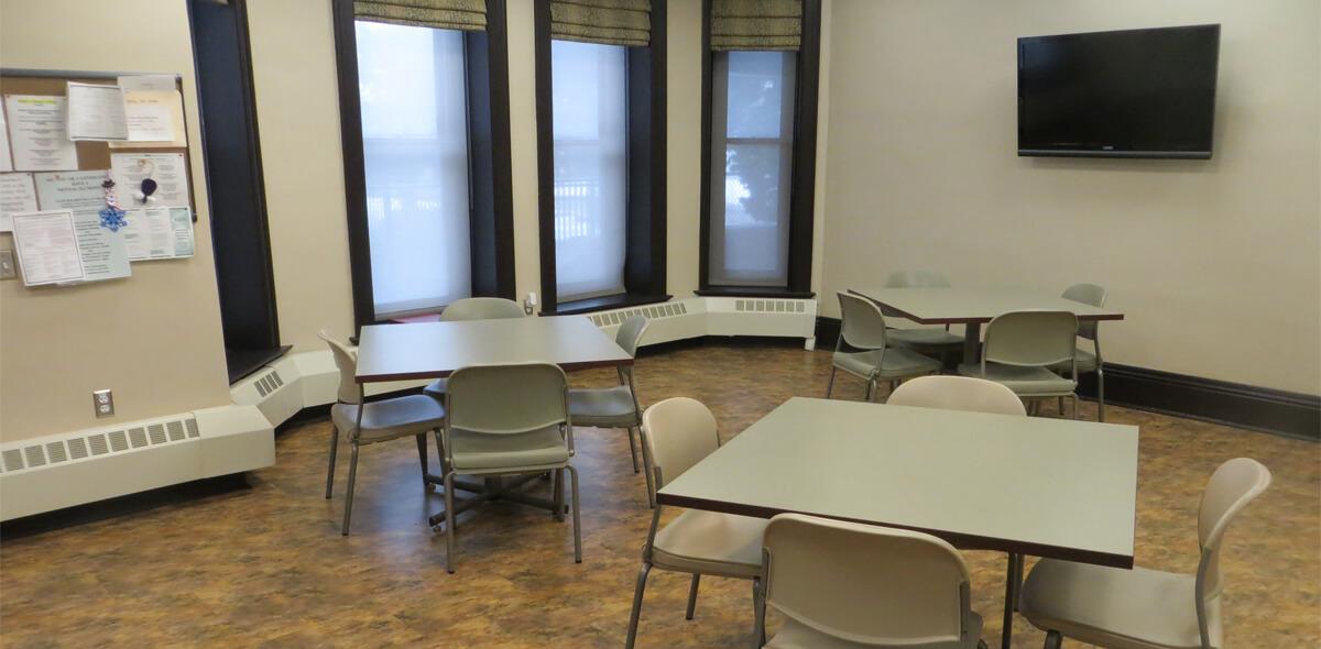 DePaul West Main Apartment Treatment Program Community Room
