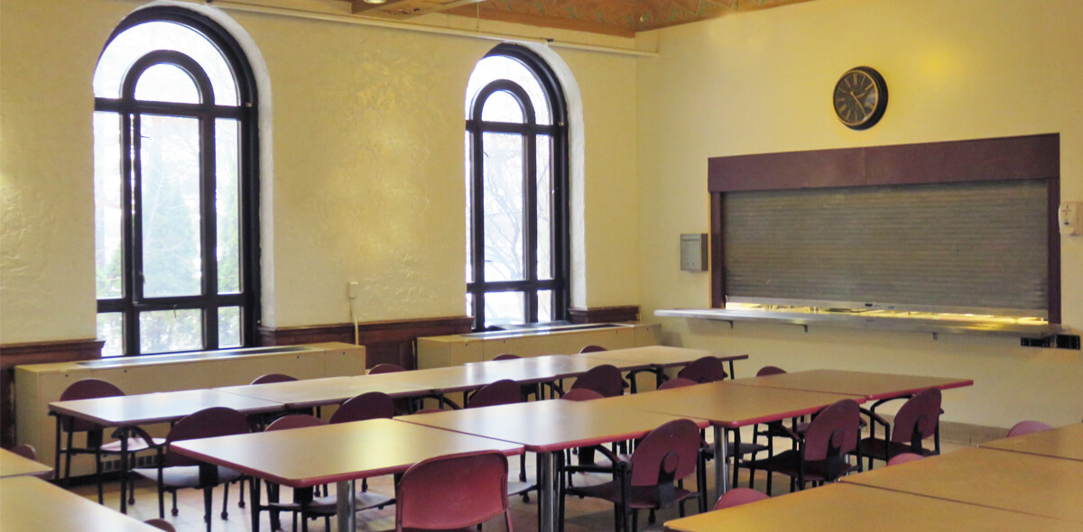 DePaul Cornerstone Community Residence Single Room Occupancy Program Dining Room