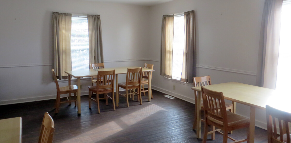 DePaul Lyell Road Licensed Congregate Treatment Site Dining Room