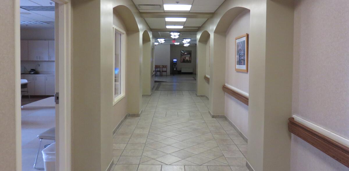DePaul Parkside Community Residence Single Room Occupancy Program Hallway