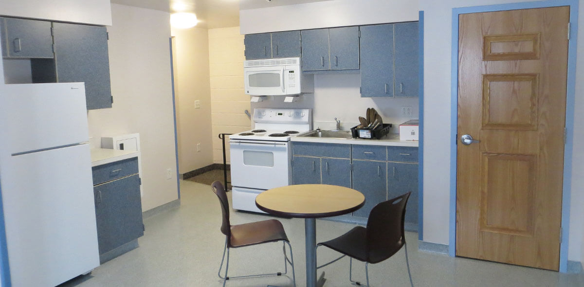 DePaul Ridgeview Commons Apartment Treatment Program Kitchen 3