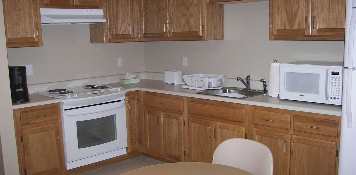DePaul Warsaw Apartment Treatment Program Kitchen