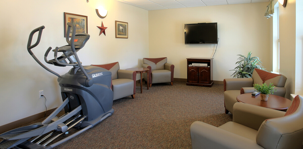 DePaul Batavia Apartment Treatment Program Exercise Room