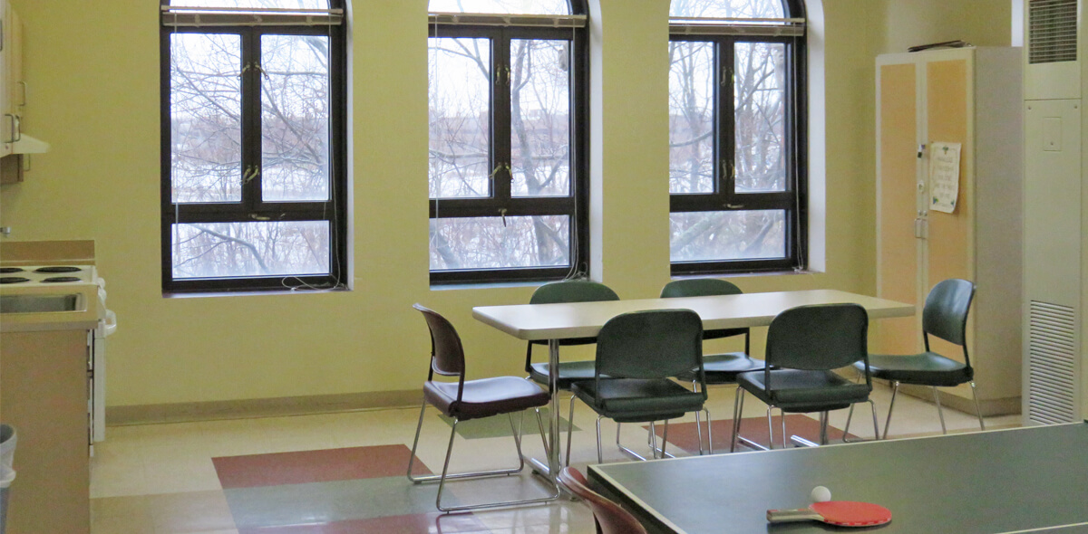 DePaul Cornerstone Community Residence Single Room Occupancy Program Activity Room