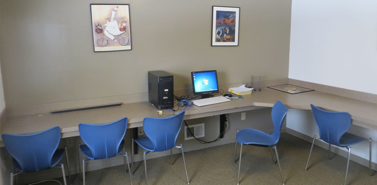 DePaul Elmgrove Licensed Congregate Treatment Site Computer Room