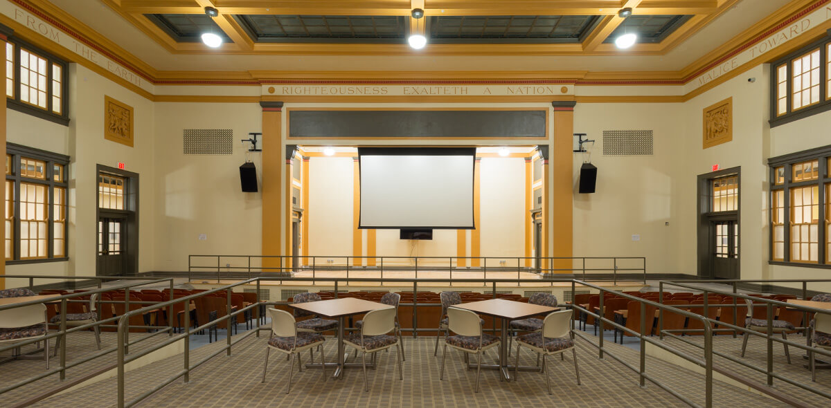 DePaul Riverside Apartment Treatment Program Auditorium