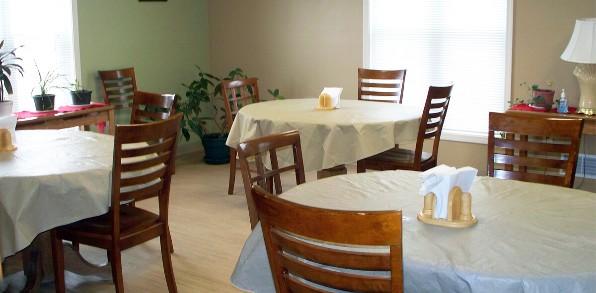 DePaul Rutherford Licensed Congregate Treatment Site Dining Room