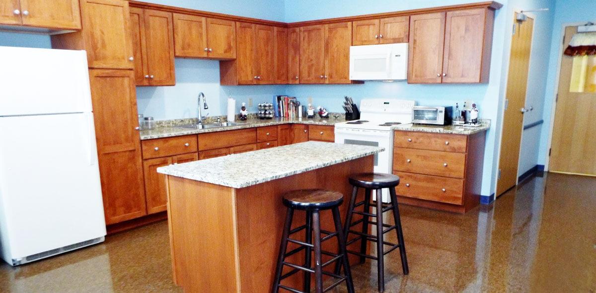 DePaul Seneca Square Community Residence Single Room Occupancy Program Training Kitchen