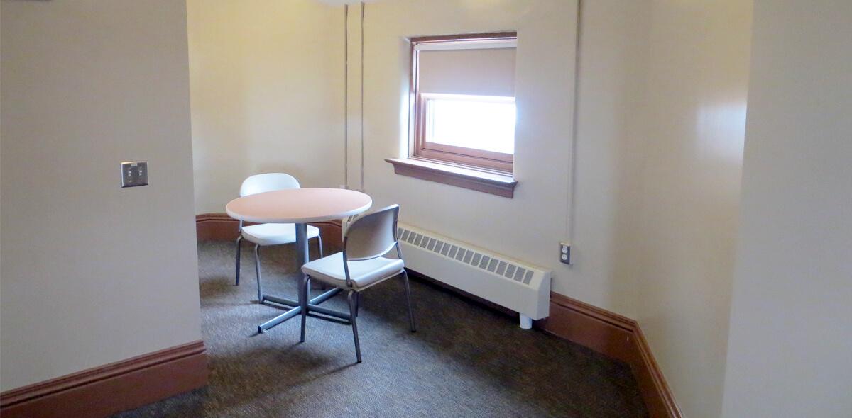 DePaul West Main Apartment Treatment Program Dining Area