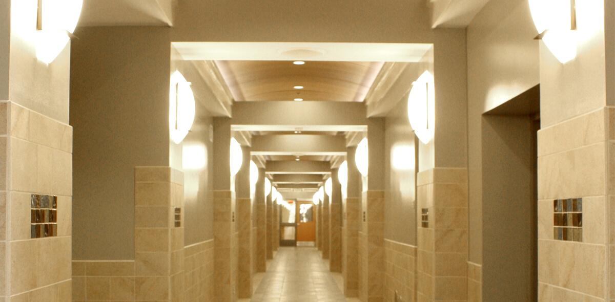 DePaul Halstead Square Community Residence Single Room Occupancy Program Hallway