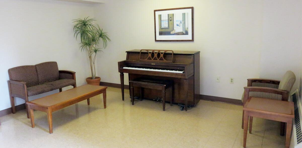 DePaul Parkside Community Residence Single Room Occupancy Program Piano