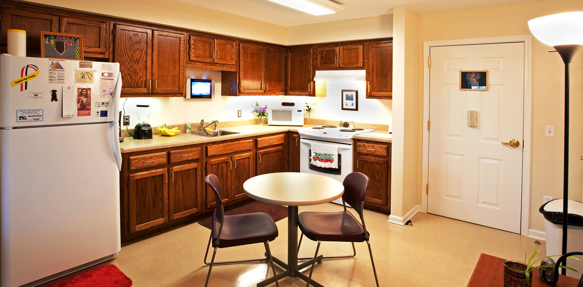 DePaul Batavia Apartment Treatment Program Kitchen