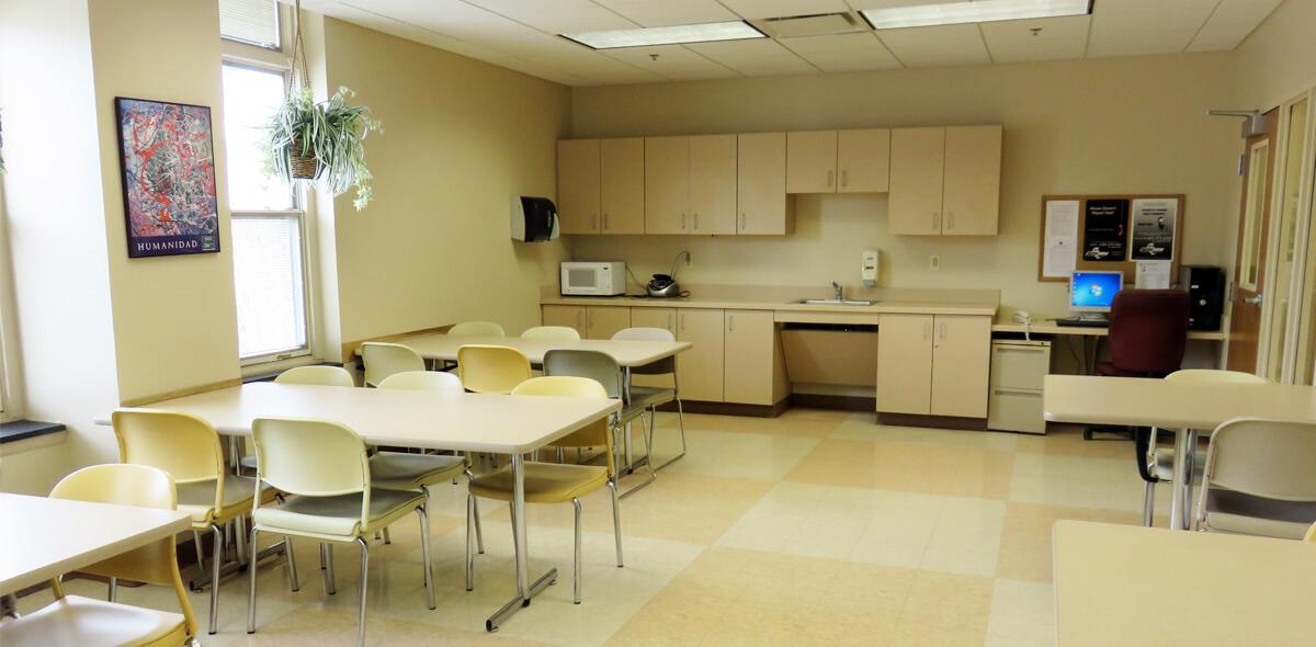 DePaul Parkside Community Residence Single Room Occupancy Program Community Room