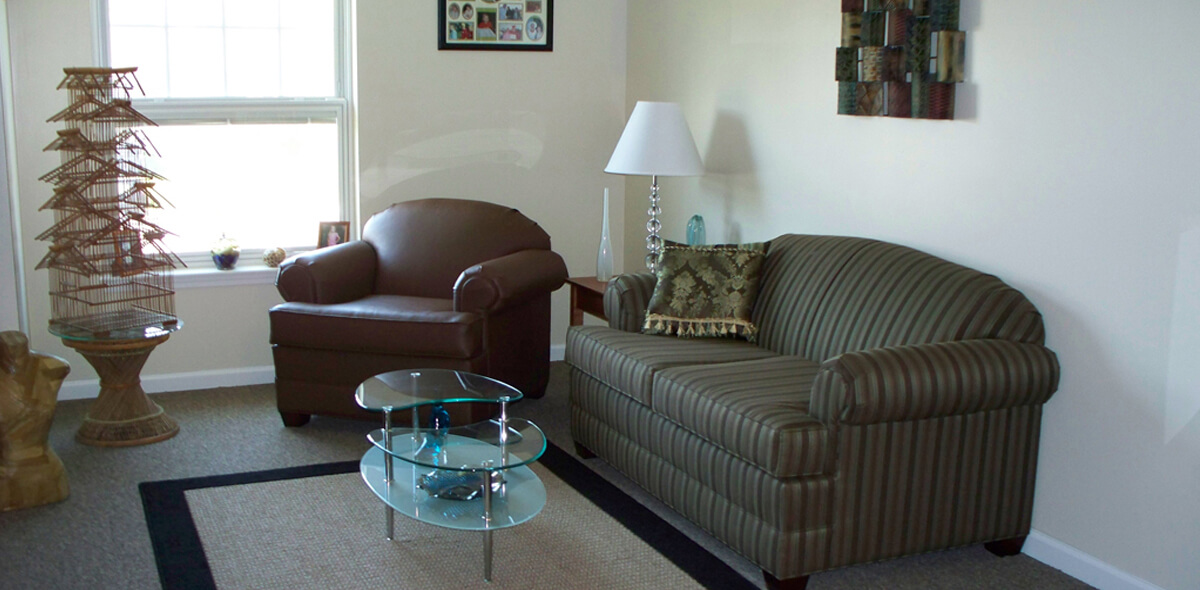 DePaul Batavia Apartment Treatment Program Living Room