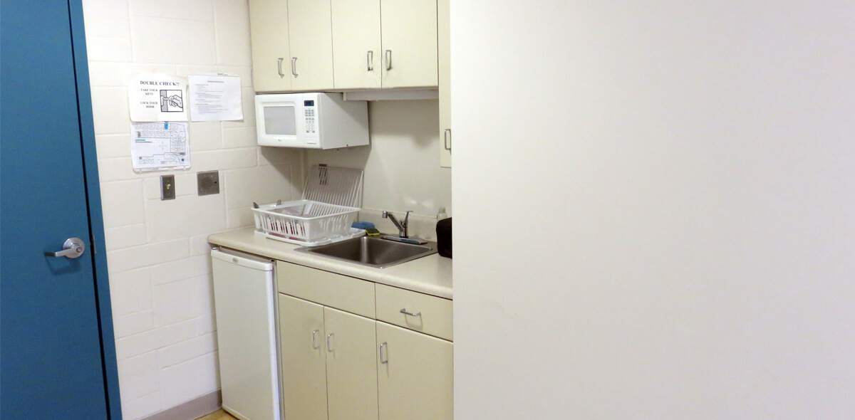 DePaul Edgerton Square Community Residence Single Room Occupancy Program Kitchen