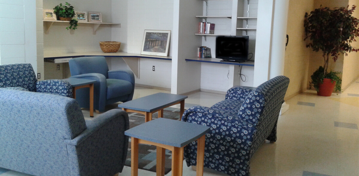 DePaul Kensington Square Community Residence Single Room Occupancy Program Living Area