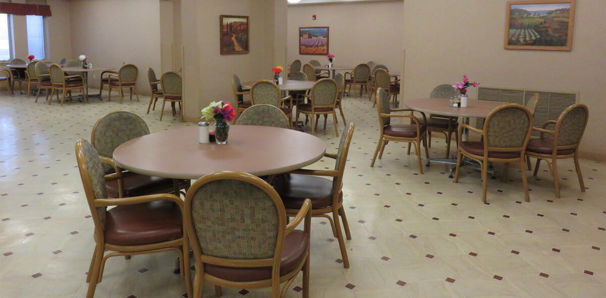 DePaul Parkside Community Residence Single Room Occupancy Program Dining Room