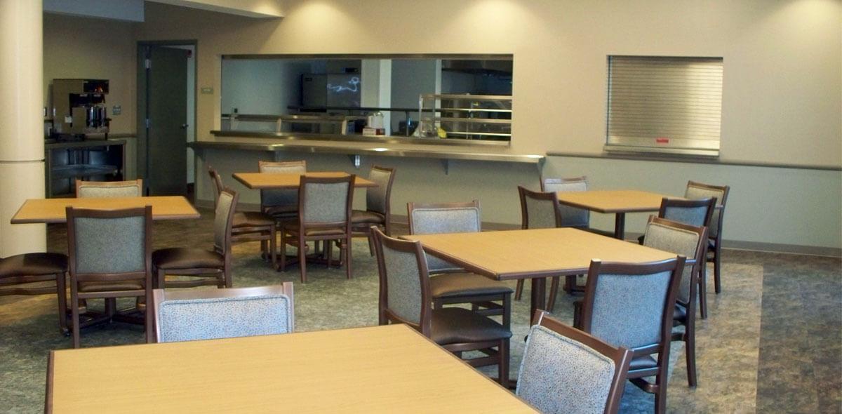 DePaul Halstead Square Community Residence Single Room Occupancy Program Dining Room