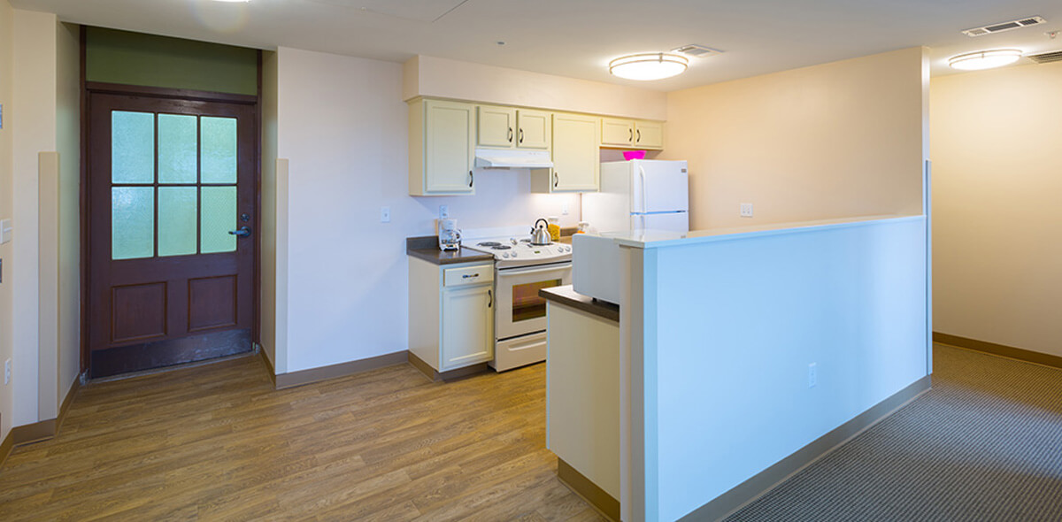 DePaul Riverside Apartment Treatment Program Kitchen