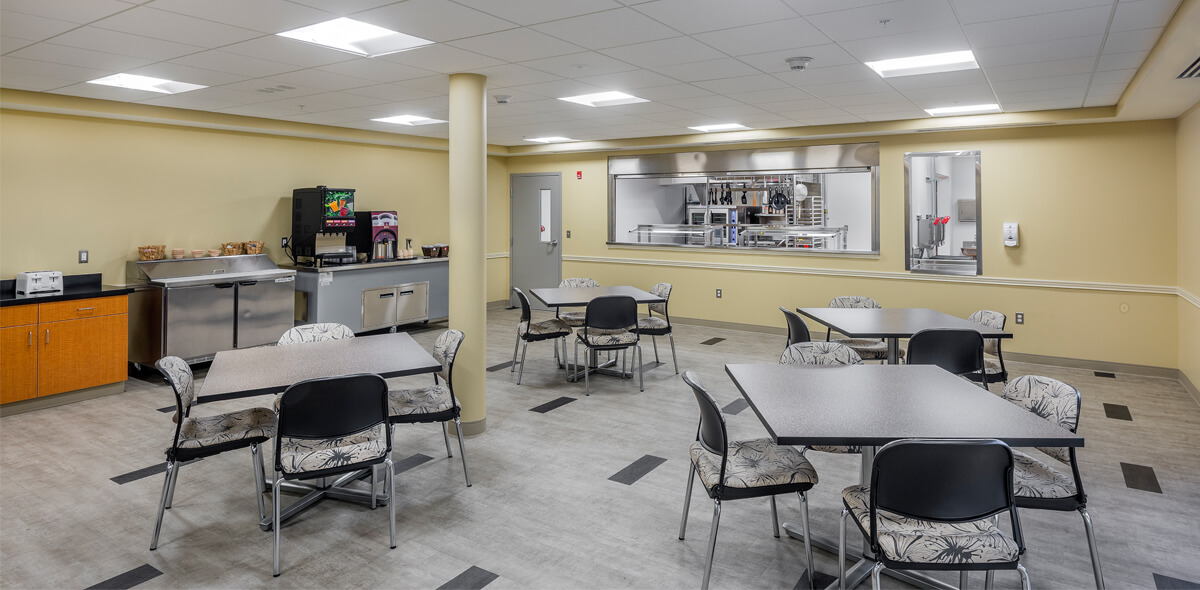 DePaul Ebenezer Square Community Residence Single Room Occupancy Program Dining Room