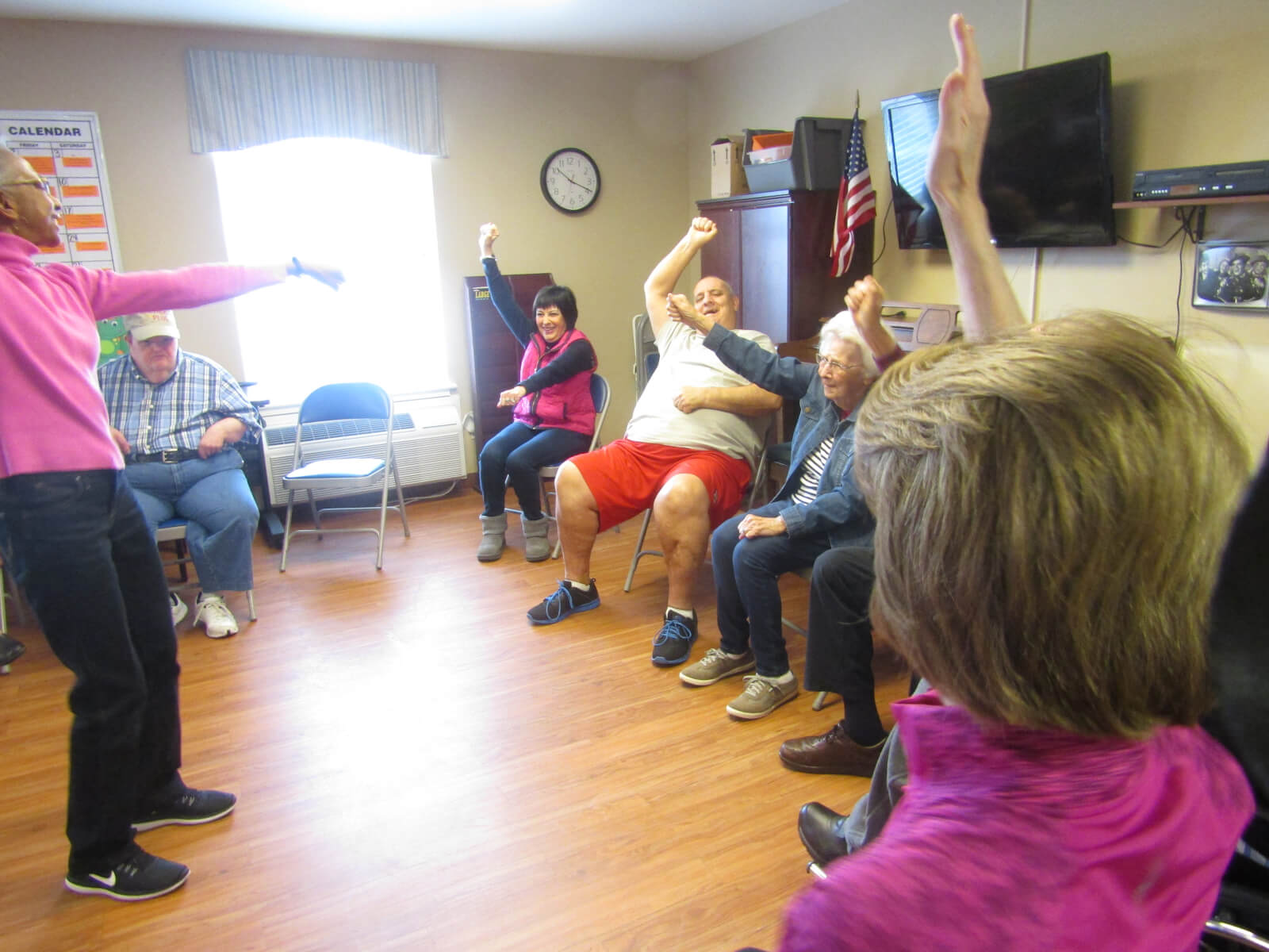 Rolling Ridge Chair Exercises