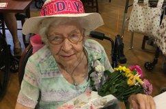 Jennie Altes Glenwell Centenarian 2