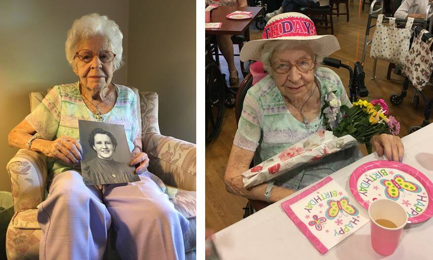 Jennie Altes Glenwell Centenarian