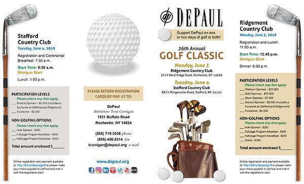 Golf Classic 2019 Brochure
