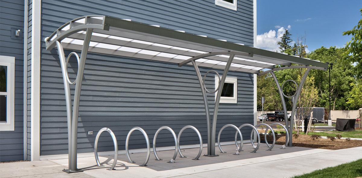 DeWitt Clinton Apartments Bike Rack