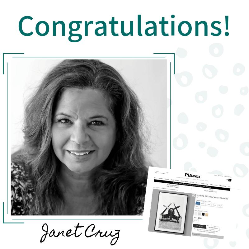 Congratulations, Janet Cruz!