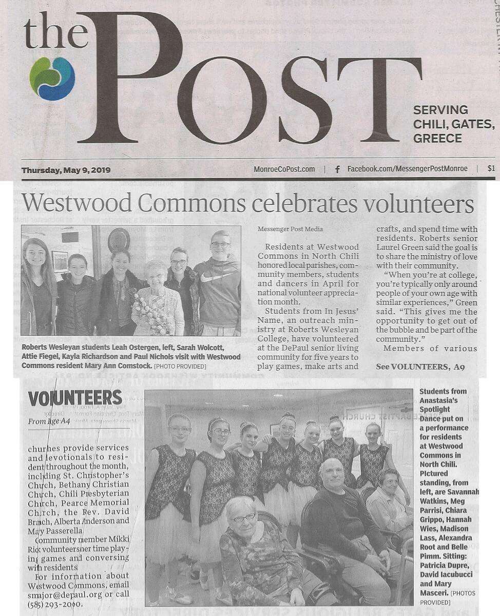 WWC Volunteers, 5.9.19 Post Paper (cropped)