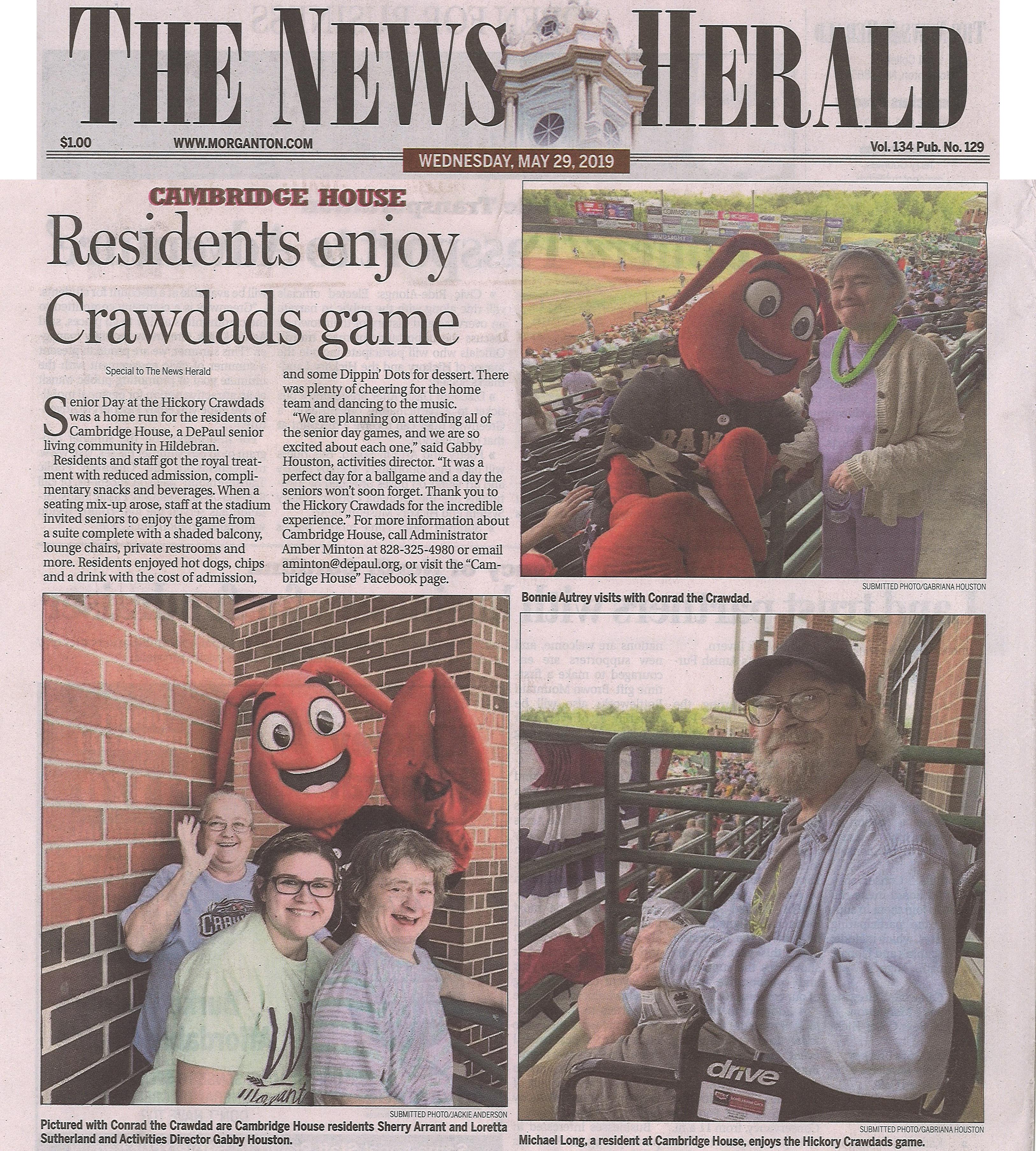 CH Baseball, 5.29.19 News Herald(cropped)