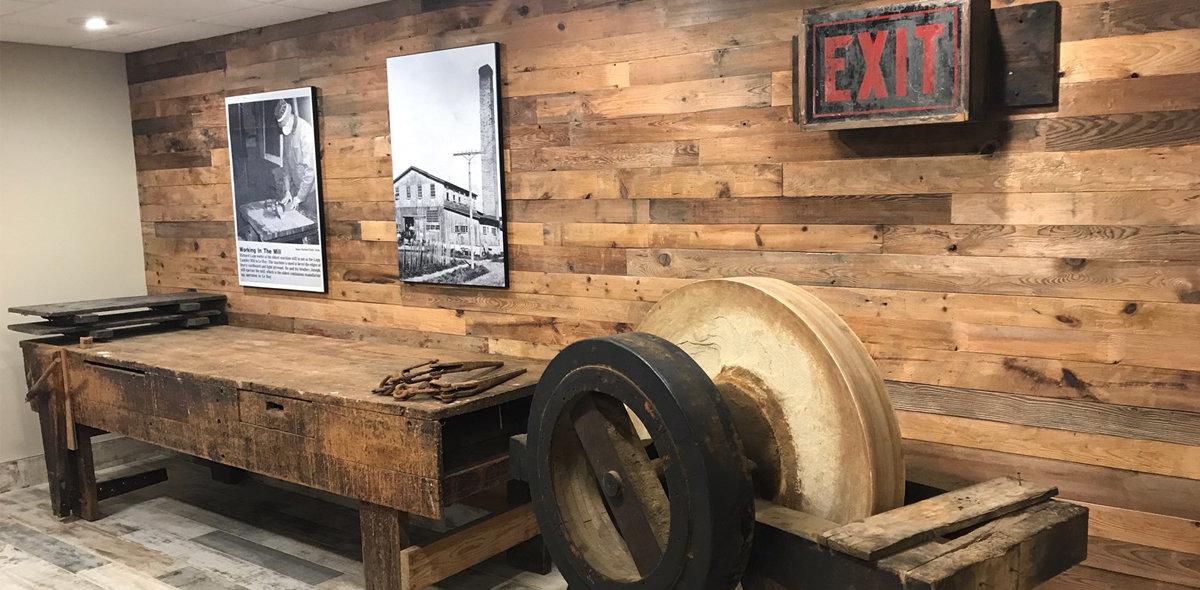 La Rosa Villas Interior Mill History