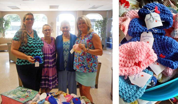 Dayspring At Wallace Infant Hat Donation 2