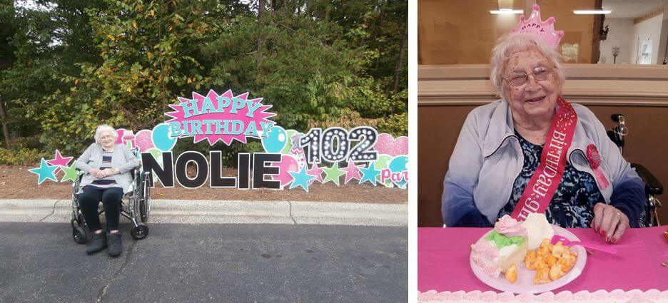 Nolie Boyles 102nd Birthday