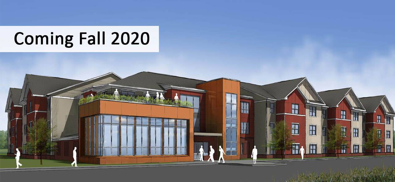Starting Line Apartments Coming Fall 2020